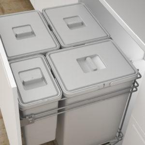 Cucine Oggi - Cubos - Cubos Gran Capacidad - Doble instalación