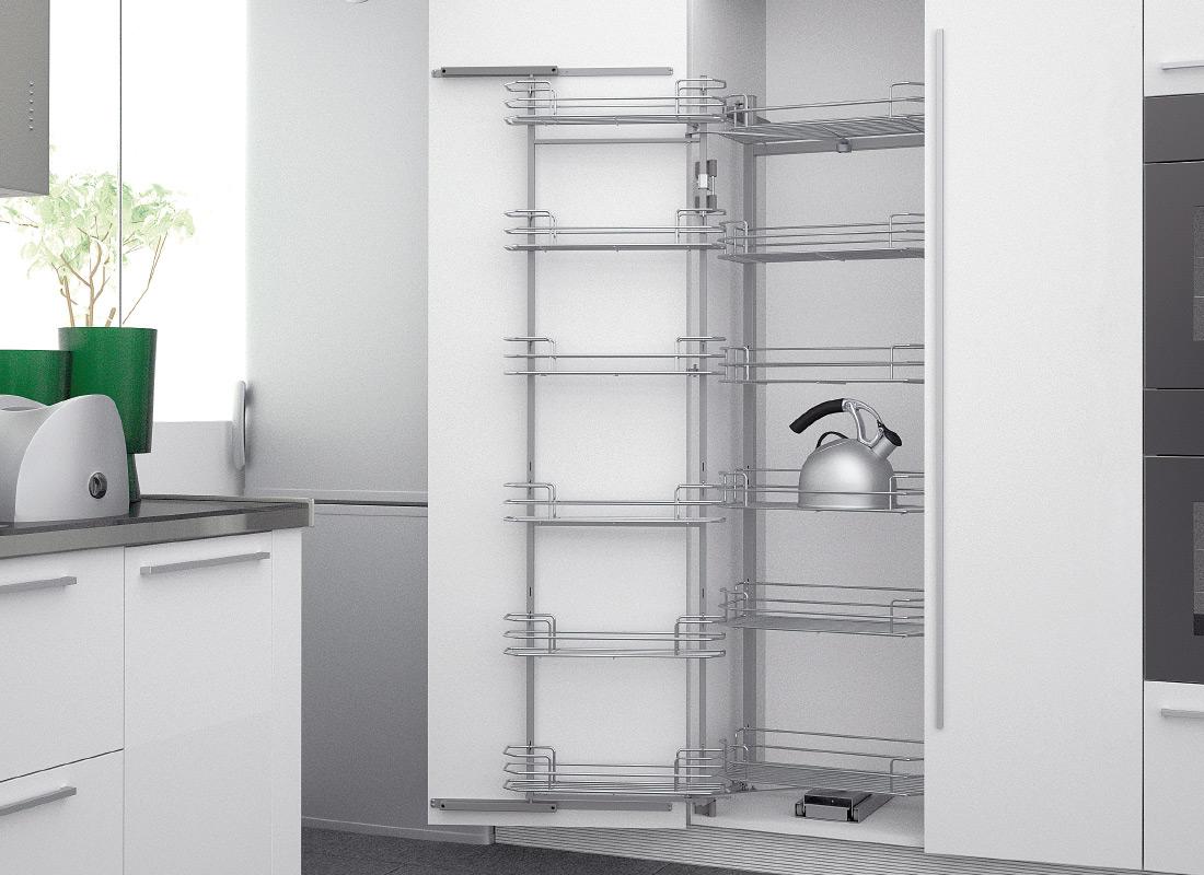 Cucine Oggi - Filo Metálico - Columnas Extraíbles Sige