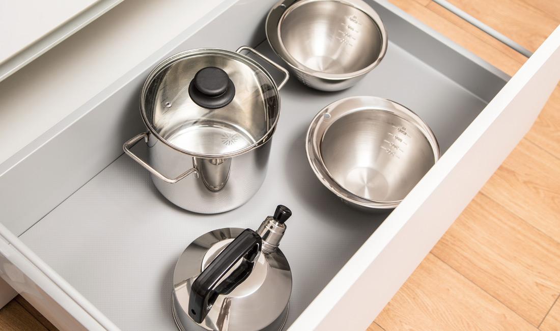 Cucine Oggi - interior de Gavetero - Tapete antideslizante en rollo R1