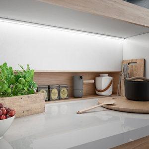 Cucine Oggi - Iluminación - Regleta GeoCorner