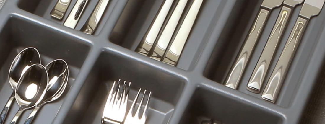 Cucine Oggi - interiores de cajón - Cubertero Island